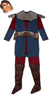 Rubie's Star Wars Clone Wars Child's Deluxe Anakin Skywalker Costume and Mask, Medium
