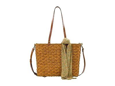 Patricia Nash Talara Tote (Tan/CB Scarf) Bags