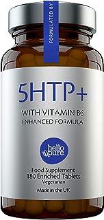 Ultra High Strength 5HTP | 400mg Natural 5-HTP Griffonia Extract Enhanced With Vitamin B6