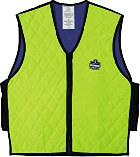 Ergodyne Chill-Its 6665 Evaporative Cooling Vest – Lime, XX-Large