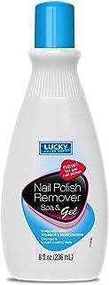 Lucky Super Soft Nail Polish Remover Spa & Gel, 8 Ounce