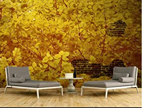 Cowallpaper 3D Wallpapers Yellow Landscape Forest Nature Art Restaurant Decoration Background Wall Poster Picture Hd Print Silk Mural Tv Bedroom Living Room Kitchen-D-300Cmx210Cm