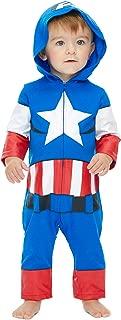 Avengers Boys' Spiderman Hulk Captain America Iron Man Costume Coverall