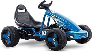 Huffy Flat Kart Battery Powered Ride On Kid Car, Blue