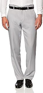 Amazon Essentials Men's Classic-Fit Expandable-Waist Flat-Front Dress Trousers