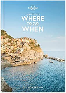 2019 Lonely Planet Travel Weekly Monthly Planner: Where To Go When