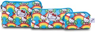 JuJuJube x Hello Kitty Be Set | مجموعة حقيبة محمولة لمستحضرات التجميل للسفر وأدوات الزينة ومستحضرات التجميل متعددة الحجم ل...