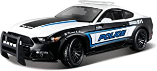 Maisto 1:18 2015 Ford Mustang Police Diecast Vehicle