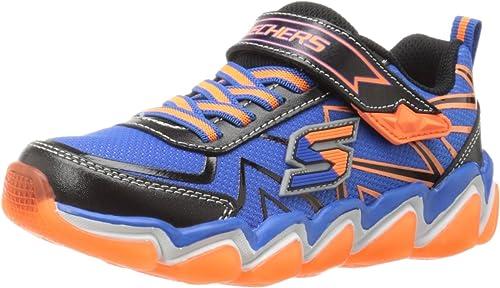 Skechers Enfants Boys Air 3.0 3.0 Rupture paniers (Peu Enfant Big Enfant), noir bleu Orange, 10.5 M US Peu Enfant  le moins cher