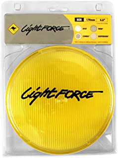 Lightforce FYSWD 170mm Yellow Wide Angle Fog Driving Light Cover