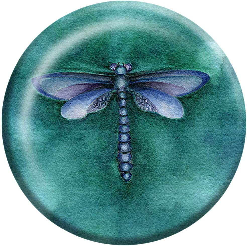 online shopping Rachel Tribble - Dragonfly Crystal Paper Paperweight Direct stock discount Weig Glass