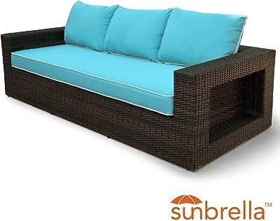 Amazon.com : Vondom Faz Sofa Central Module White : Garden ...