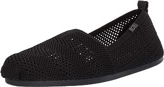 Skechers BOBS Women's Bobs Plush-Engineered Knit Slip on Ballet Flat