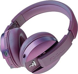 Focal Listen Wireless Over-Ear Headphones with Microphone (Purple)