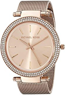 Michael Kors Women's Quartz Watch, Analog Display and Stainless Steel Strap MK3369
