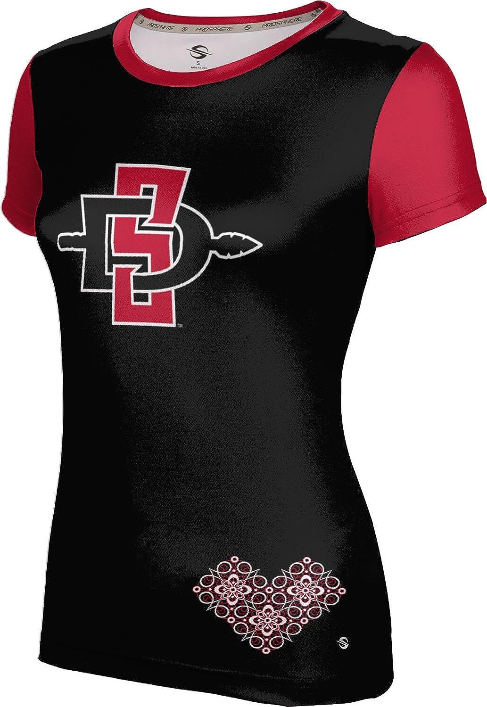 ProSphere San Diego State University Girls' Performance T-Shirt (Foxy)