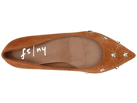 French Flat SuedeCuoio Suede Black Sole Cunning rE6qE