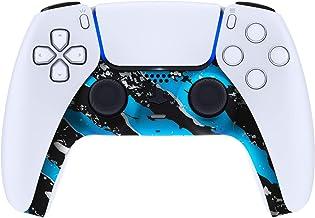 eXtremeRate Cover Scocca Striscia Decorativa Ricambio per PS5 Controller Copertura per DualSense Guscio Frontale DIY Ricam...