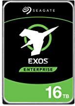 Seagate 16TB HDD Exos X16 7200 RPM 512e/4Kn SATA 6Gb/s 256MB Cache 3.5-Inch Enterprise Hard Drive...