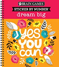 Download Brain Games - Sticker by Number: Dream Big PDF