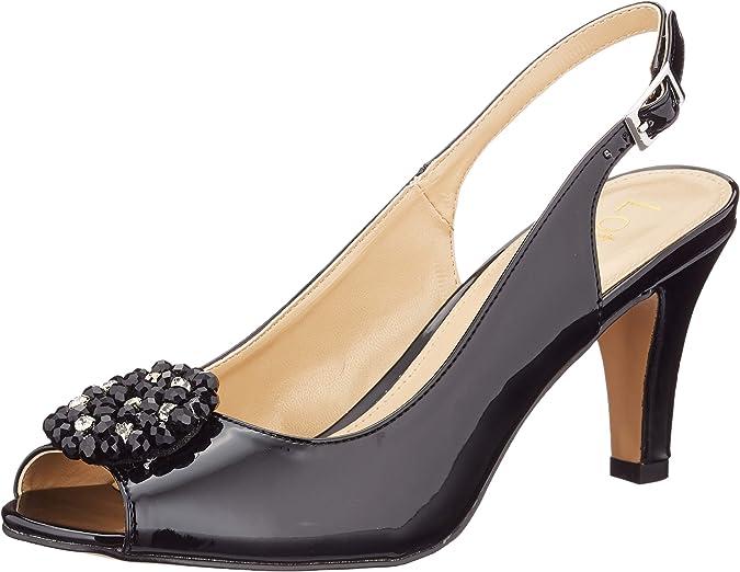 Lotus Elodie, Zapatos de tacón con Punta Abierta Mujer