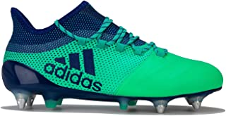 adidas Performance Mens X 17.1 Soft Ground Football Boots - Ink - 8