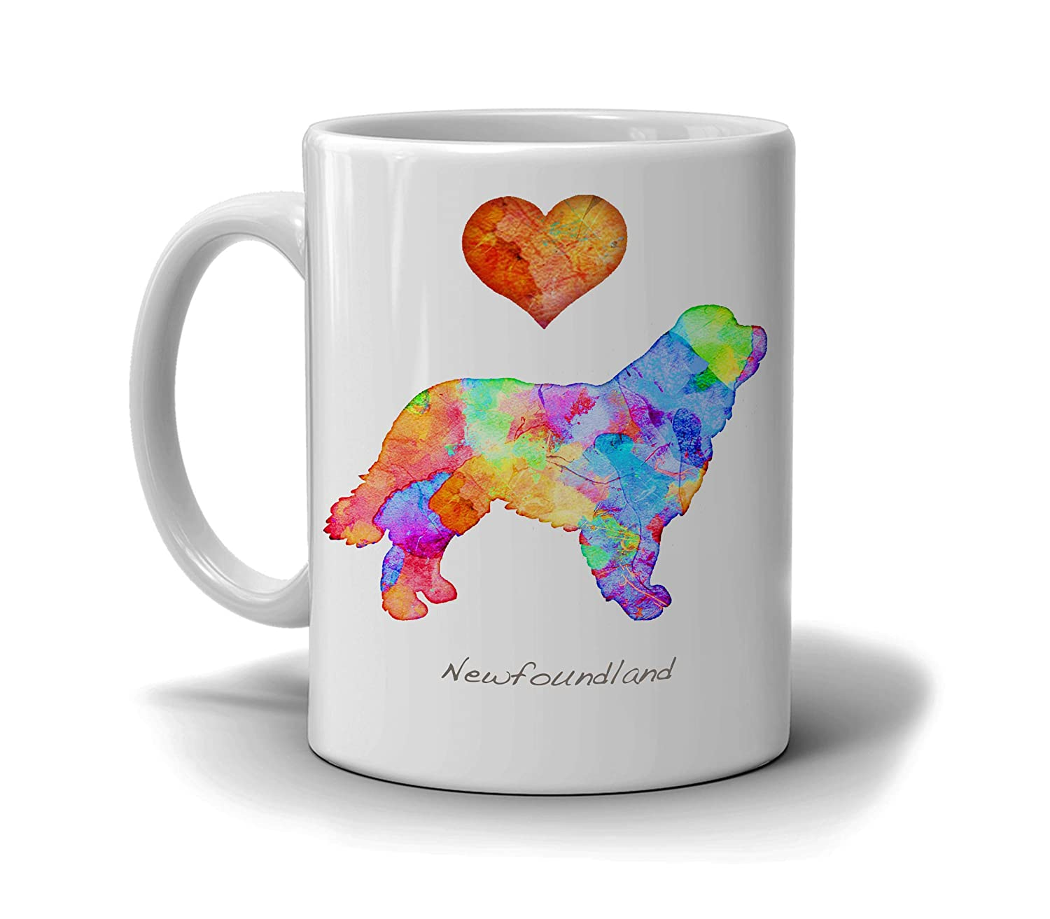 Newfoundland Dog Breed Mug by Personalize Max 65% OFF Dan with N At the price Morris