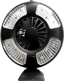 r_planning LED ライト ランタン 扇風機 ファン 電池式 卓上 防災 アウトドア スタンド付属