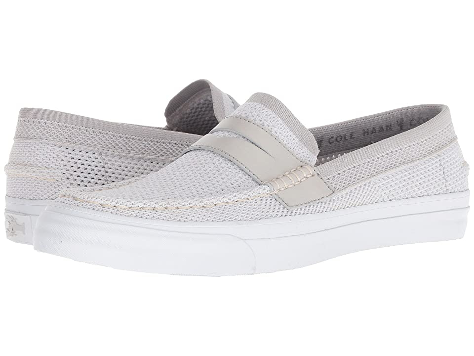 Cole Haan Pinch Weekender Luxe Stitchlite Loafer (Vapor Gray/Optic White) Men