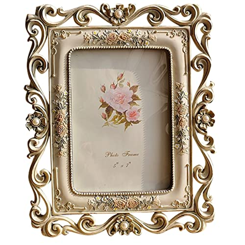 bfbb5887da4 Gift Garden Vintage Picture Frame 5 by 7 Inch Hollow up for Photo 5x7