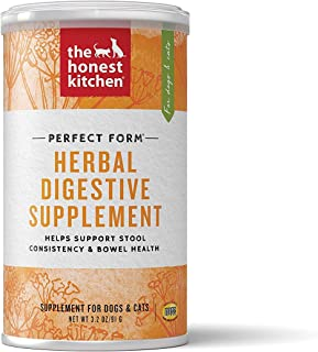 Honest Kitchen The Perfect Form Supplement - Natural Human Grade Digestive Supplement for Dogs & Cats