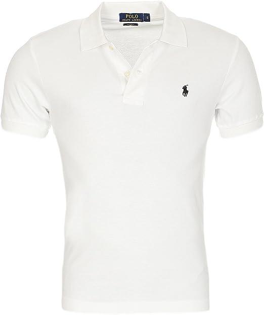 Ralph Lauen Polo Heren Poloshirt Kleine Pony Custom Fit S M L Xl Xxl Amazon Nl