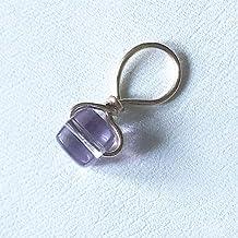 Loc Jewelry Sterling Silver Amethyst Adjustable Dread Bead Jewel Charm Dreadlock Accessories Purple Green Gemstone Schmuck Bridal Hair Adornments