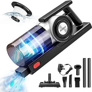 Audew Handheld Vacuum Cordless, 10000PA Handheld Vacuum Cleaner with Connection Hose, 4 in 1 Multifunctional Handheld Hoov...
