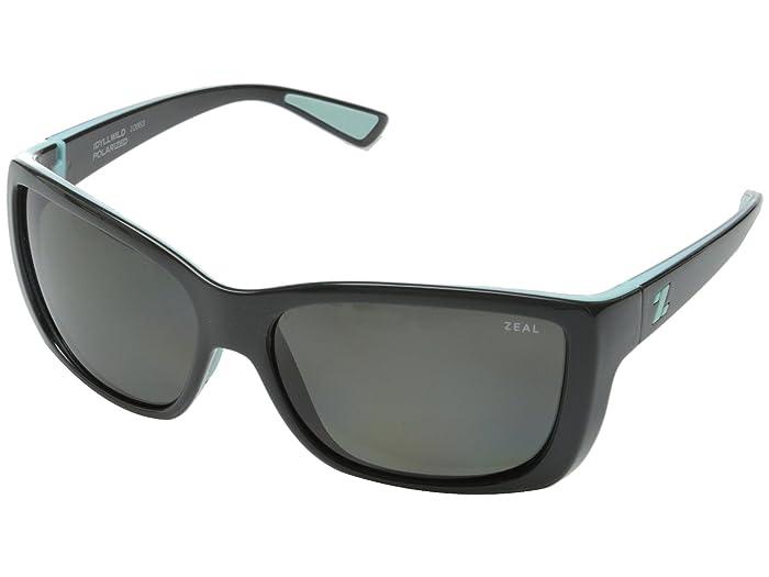 Zeal Optics  Idyllwild (London Mint withPolarized Dark Grey Lens) Sport Sunglasses