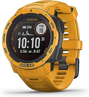 Garmin Instinct Solar, Solar-Powered Rugged Outdoor Smartwatch, Built-in Sports Apps and Health...