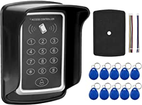 Keypad Access Control, With 10 Id Key Tags 1000 User Cards 3 Unlocking Methods Safe And Durable Home Lock System, for Home...