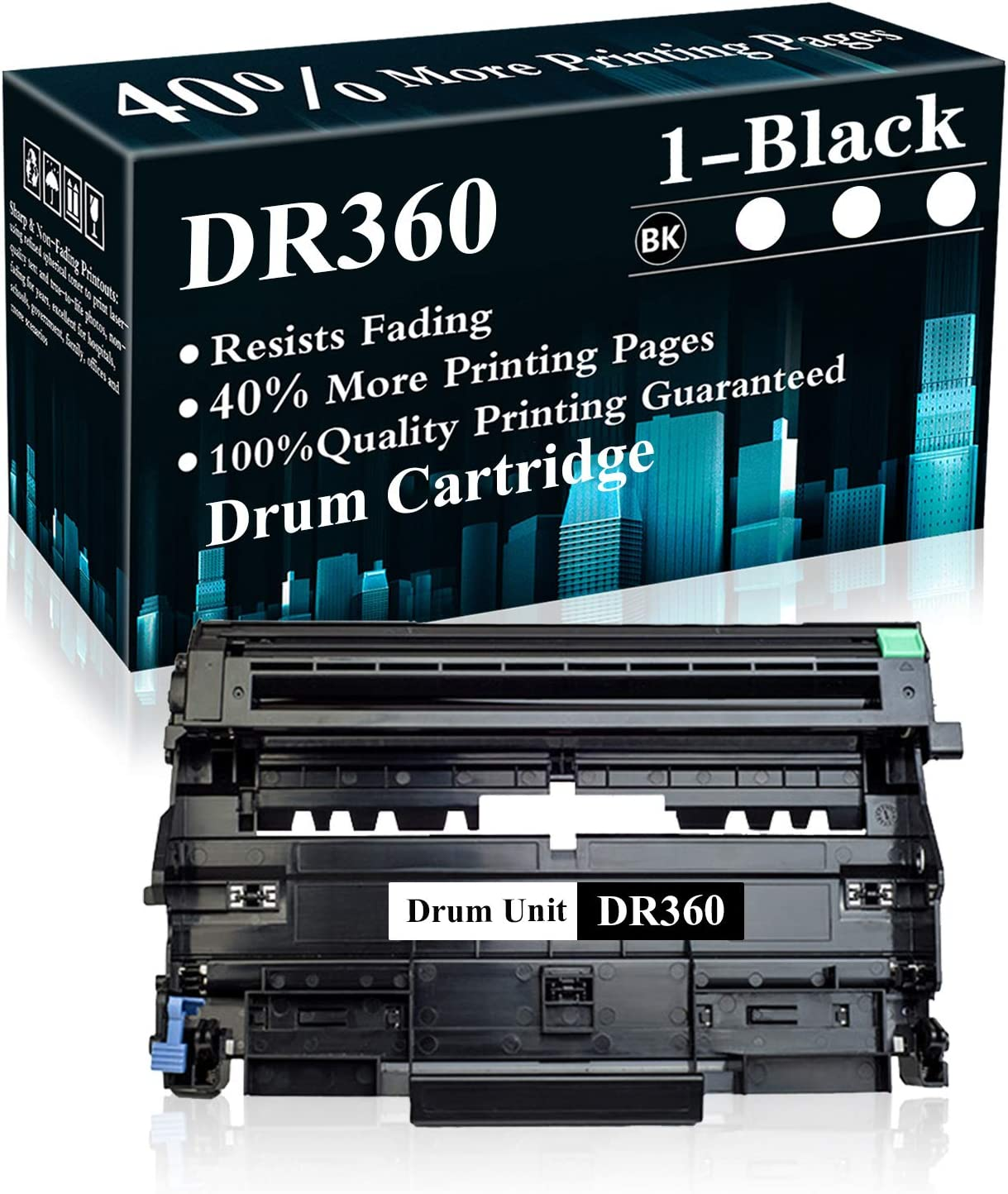 1 Pack DR360 Black Drum Unit 70 DCP-7030 Easy-to-use Brother for Limited Special Price Replacement
