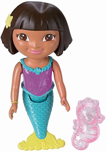 Dora l'exploratrice Sirène, poupée de bain (Mattel y1425)