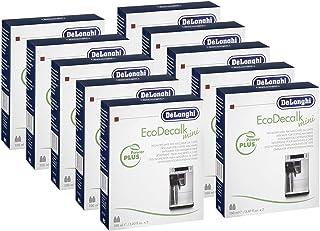 Détartrant DeLonghi Pack économique de 10 mini 20x 100 ml pour machines à café
