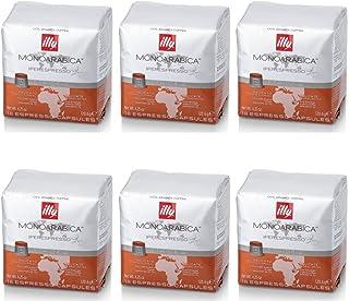 ILLY 6 pacchi da 18 capsule Monoarabica Etiopia Rame