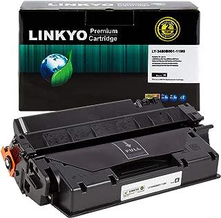 LINKYO Compatible Toner Cartridge Replacement for Canon 119 II 3480B001AA (Black, High Yield)