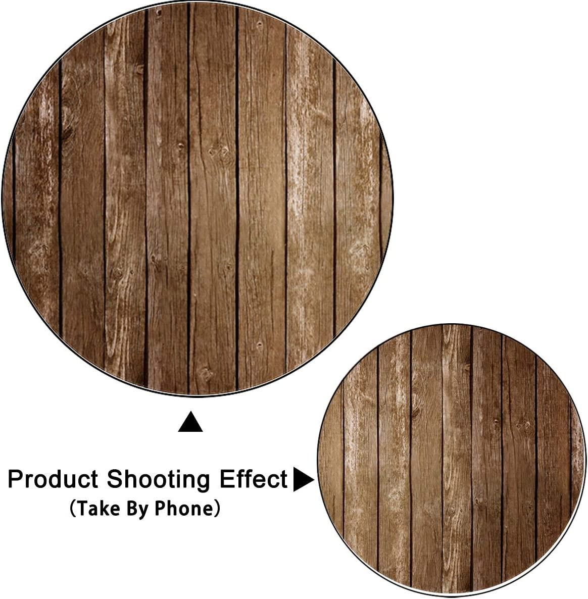 7x5ft,chy224 Levoo Flannel Wood Background Photography Studio Vintage Worn Wooden Boards Backdrop Birthday Family Party Holiday Celebration Romantic Wedding Photography Home Decoration