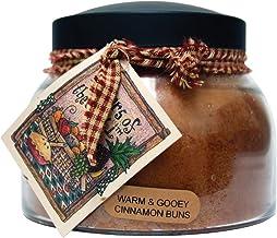 A Cheerful Giver Warm & Gooey Cinnamon Buns 22 oz. Mama Jar Candle