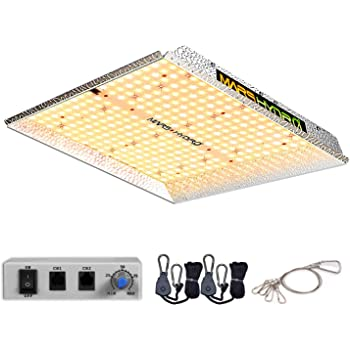 MARS HYDRO TS 1000W Led Grow Light 3x3ft Daisy Chain Dimmable Full Spectrum LED Growing Lights for Indoor Plants Greenhouse Veg Bloom Light with 342 LEDs Hydroponic Growing Lamps Actual Power 150Watt