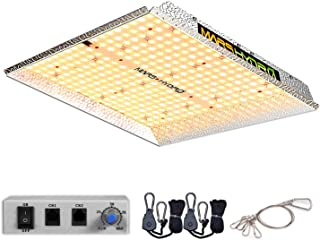 MARS HYDRO TS 1000W Led Grow Light Sunlike Full Spectrum LED Growing Lights for Indoor Plants Greenhouse Veg Bloom with Up...