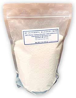 SZ Cetearyl Alcohol 3 Lb. for DIY Cosmetics and Soaps.