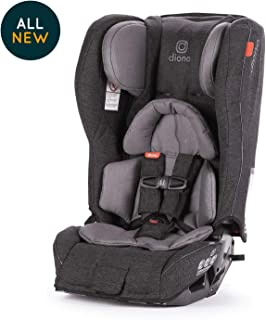 Diono Rainier 2AXT All-in-One Convertible Car Seat, Grey Dark