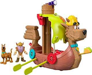 Imaginext Fisher-Price Scooby-Doo Viking Ship, Multi Color