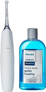 Philips Sonicare White AirFloss Pro Power Flosser & Mouthwash - 3rd Generation (SG 2-Pin Bathroom Plug)